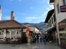 Bascarsija, the old Ottoman quarter