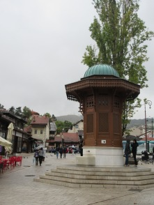 Sarajevo's most iconic fountain from Ottoman times